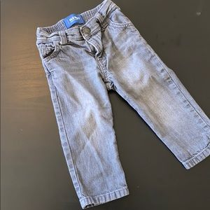 Old Navy Grey Skinny Jeans sz 18-24 mo